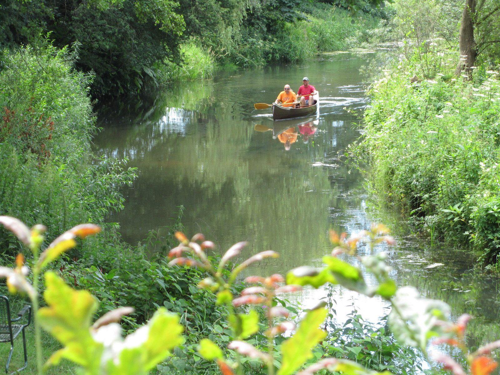 ontdek de drentsche Aa per kano in Schipborg