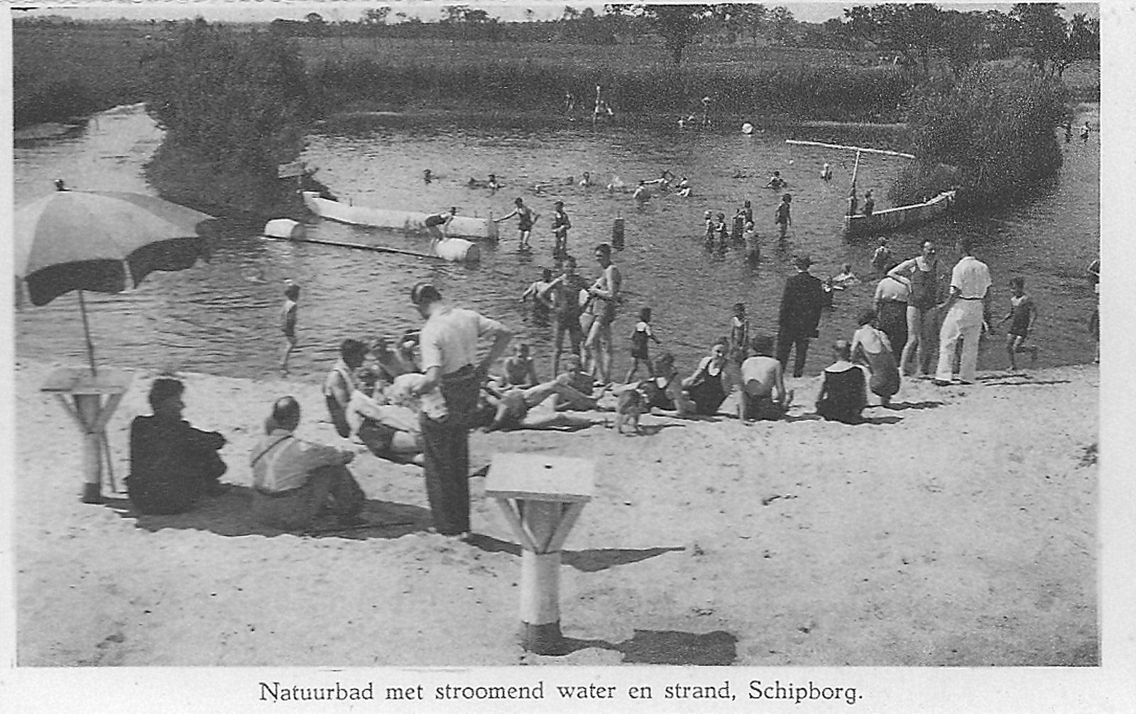 Zwembad rond 1932 Evenhuis Músarrindill